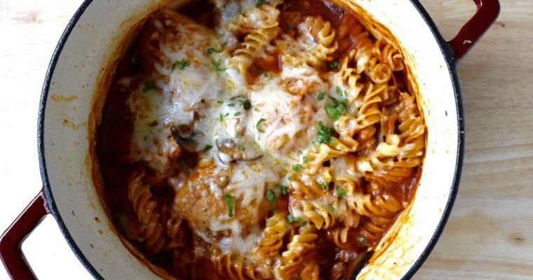 Love and One Pot Chicken & Mushroom Pasta