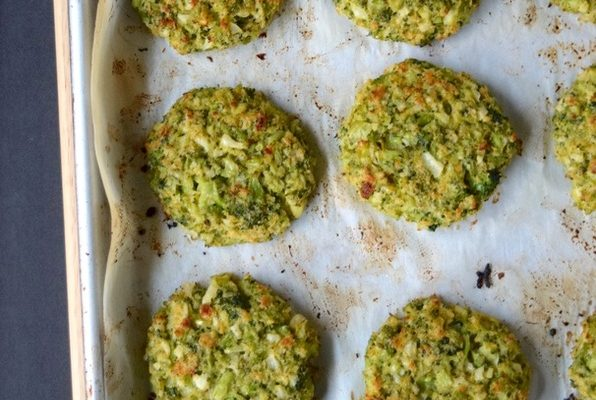 Love and Broccoli Cauliflower Cakes