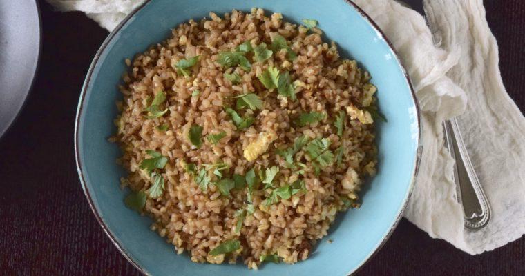 Easiest 5 Ingredient Fried Rice